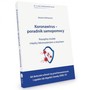 Książka Koronawirus Poradnik samopomocy dr n. med. Ludwig M. Jacob